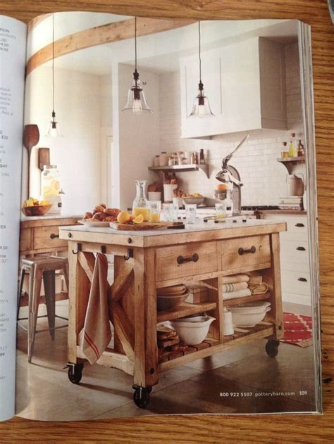 pottery barn kitchen pottery barn kitchen island home ideas pinterest
