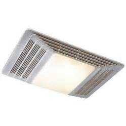 broan heater fan light bathroom exhaust ceiling nutone