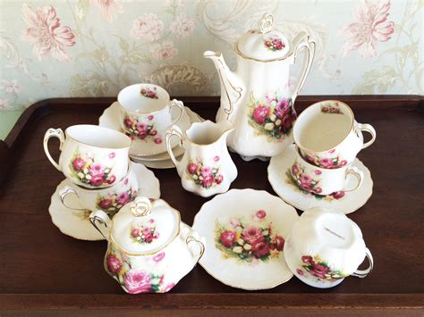 Cup Saucer Tea Set Cangkir Lepek Dengan Tutup Y85 Vicenza capodimonte tea set 17pcs royal decoco