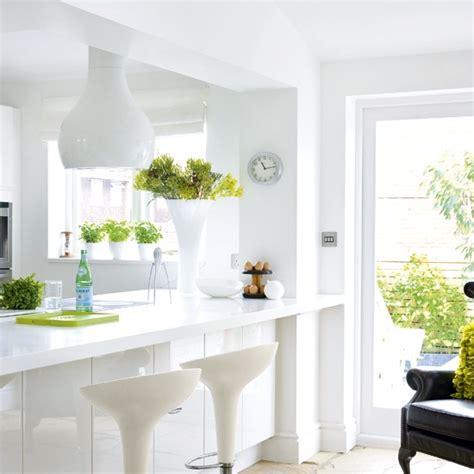 white modern breakfast bar kitchen beautiful kitchens white kitchen breakfast bar housetohome co uk