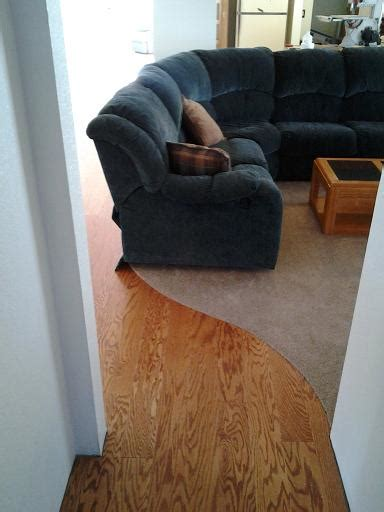 Wood To Carpet Curved Transition   Flooring   DIY Chatroom