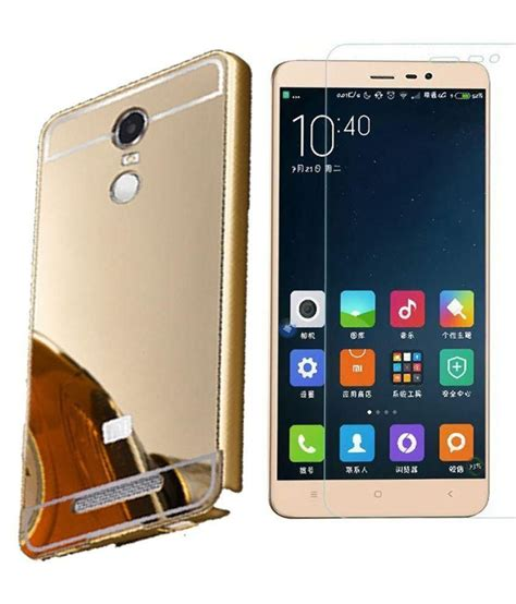 Tempered Back Cover Mirror Xiaomi jbj mirror back with tempered glass for xiaomi redmi 3s prime mobile cover combos at