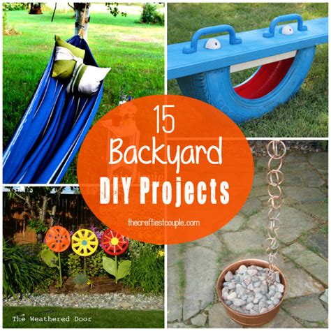 diy crafts for couples 15 of the best backyard diy projects the craftiest