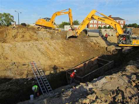 Backyard Excavation by Breckner Grading Professional Grading Excavation And