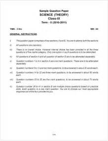 Class Essay by Cbse Sle Paper For Class 9 Term 1