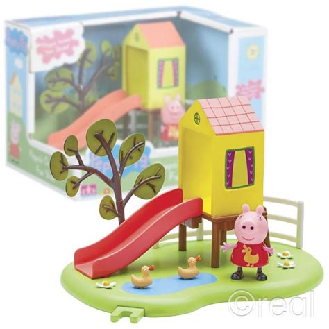 peppa pig swings new peppa pig outdoor fun swing or fun slide playset
