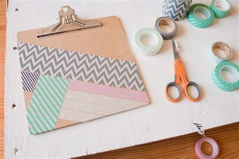 you have to see washi tape clipboard on craftsy 100 washi tape ideas to style and personalize your items