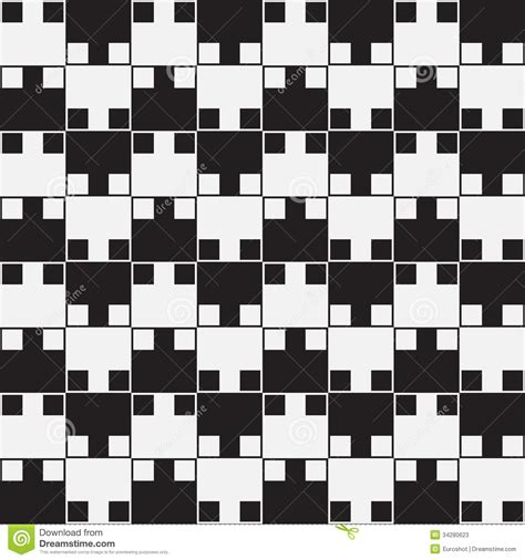 optical pattern black and white black and white optical illusion vector seamless pattern