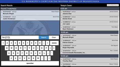 District Court Calendar Portfolio Flipside Media Inc Court Calendar Kiosk