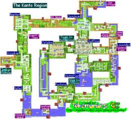 Kanto World Map by Pics Photos Pokemon Red Blue And Yellow World Map Picture