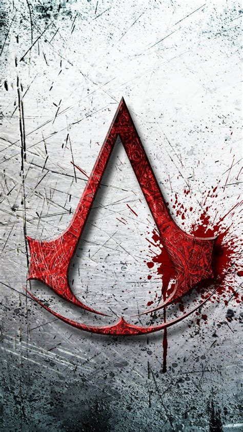 wallpaper iphone 6 assassins creed download 1080x1920 assassins creed logo pattern