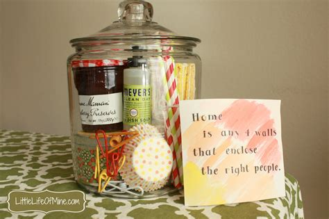 ideas for housewarming gifts housewarming gift in a jar littlelifeofmine com