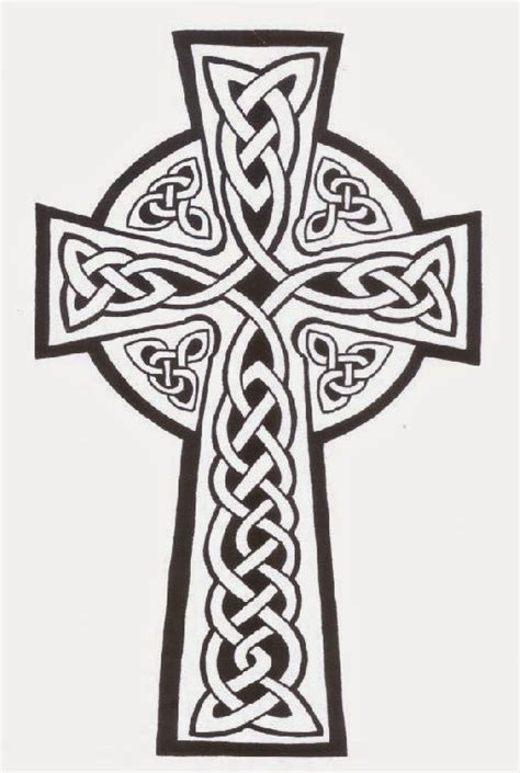 simple celtic cross tattoos celtic cross tattoos designs