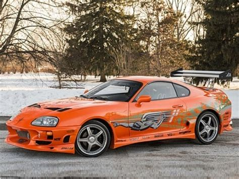 Walker Toyota Used Cars Toyota Supra Paul Walker S 10 Second Car From The Fast