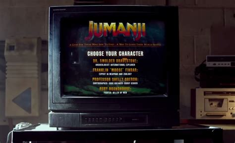 jumanji movie game rules new jumanji movie involves a magical video game console