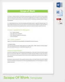 scope of services template easy scope of work template pictures to pin on