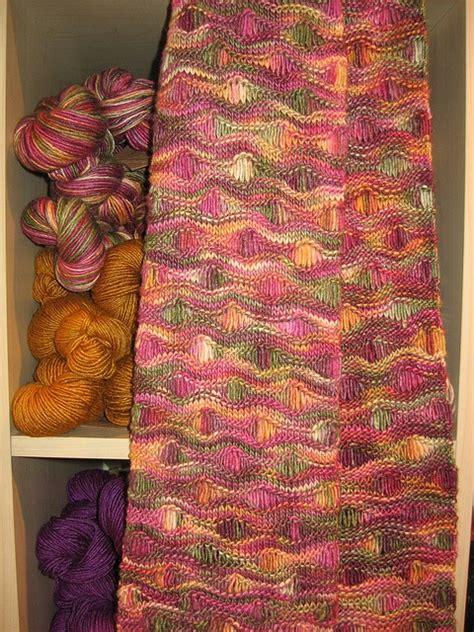 wave pattern in crochet free pattern ocean waves scarf by leslie lewis knit