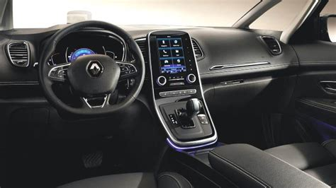 renault grand scenic 2017 interior dimensions renault grand sc 233 nic 2016 coffre et int 233 rieur