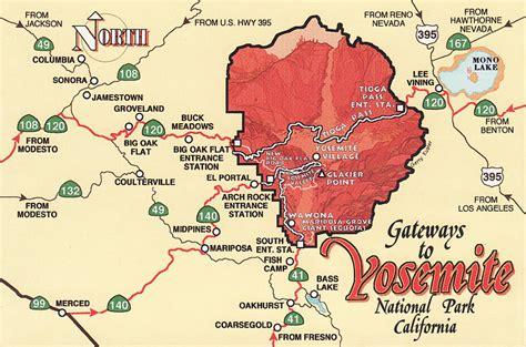 map usa yosemite moonlights unesco whs united states of america