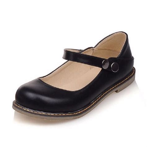 comfortable mary jane flats new girl shoes two ways flat comfortable single shoes