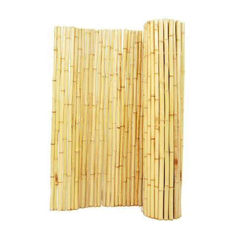 Backyard Bamboo Fencing by Shop Backyard X Scapes Wood Bamboo Fencing Common