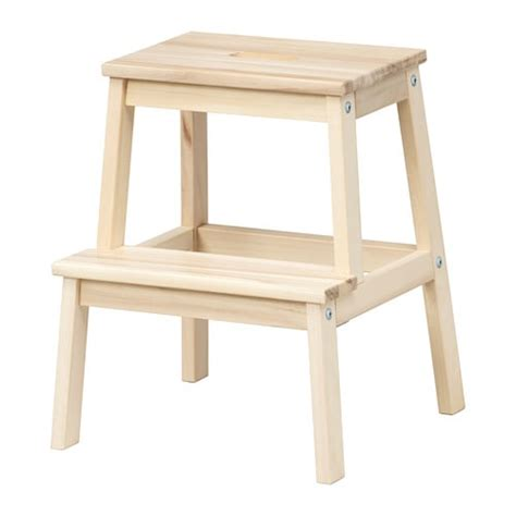 ikea 2 step wooden stool bekv 196 m step stool ikea