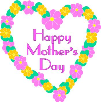 mothers day clipart s day clip flowers graphic with word