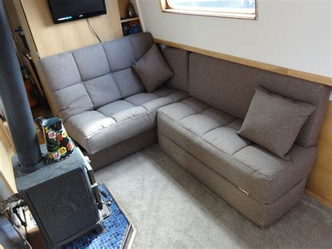 narrow sleeper sofa 55 best images about narrowboat sofa beds on