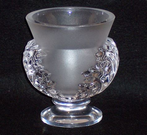 lalique vase lalique st cloud vase from mosaics on ruby