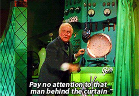 the man behind the curtain wizard of oz wizard of oz gif find share on giphy