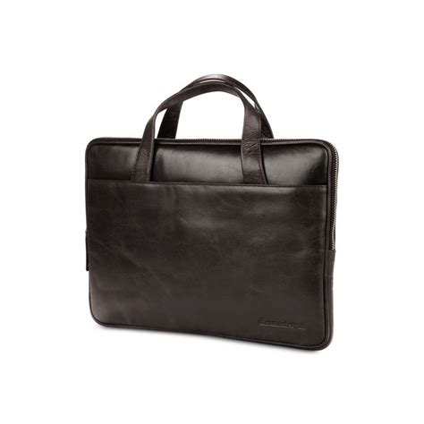 Tas Rv10101 Darkbrown dbramante1928 silkeborg leren tas 13 quot brown