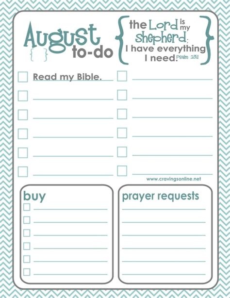 printable to do list com august printable to do list christian pinterest
