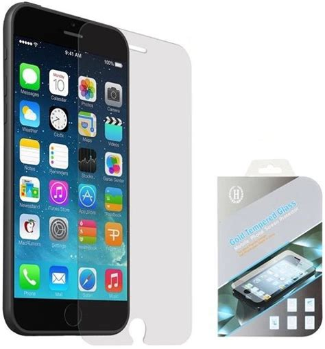 Tempered Glass Iphone 6 Plus 55inch 1 bol iphone 6 plus 5 5 inch tempered glass screen protector