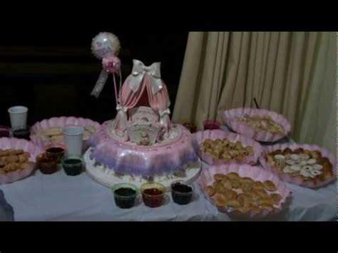 torta y recuerdos de mi baby shower