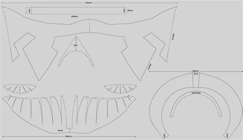 spartan mask template dali lomo march 2014