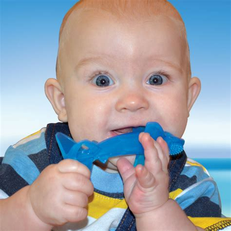 baby shark banana sharky brush teether by far the safest little shark on