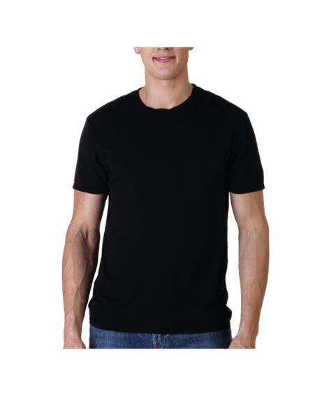Black Shirts Pima Black Crew T Shirt