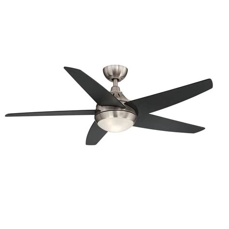 home depot led ceiling fan home decorators collection brette 23 in led indoor