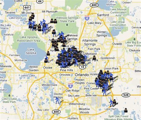 Orange County Fl Search Spotting Crime In Orange County Fl Spotcrime The S Crime Map