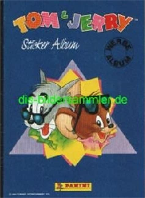Baru Sticker Label Tom Jerry T J 122 panini 1989 1992