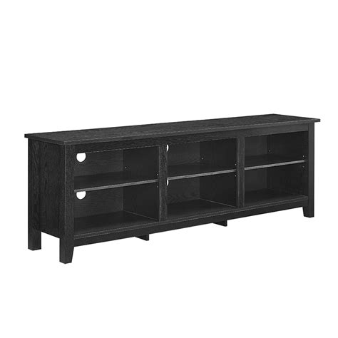 70 inch wide desk 70 quot essentials tv stand black