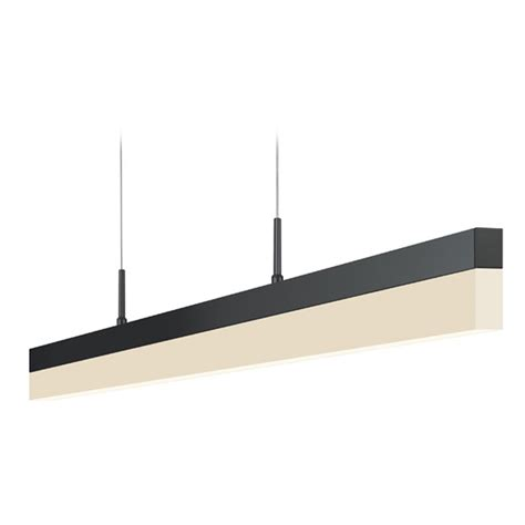 Rectangle Pendant Light Sonneman Lighting Stiletto Satin Black Led Pendant Light With Rectangle Shade 2347 25