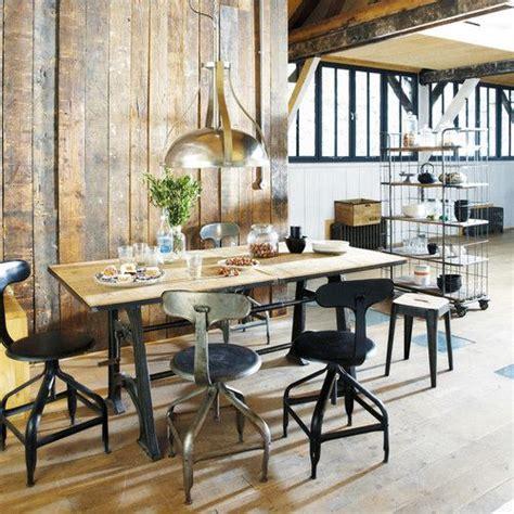 table industrielle maison du monde mangue tables and chaise industrielle on