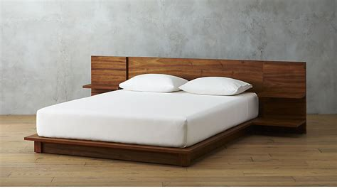 how wide is queen bed andes acacia platform bed cb2