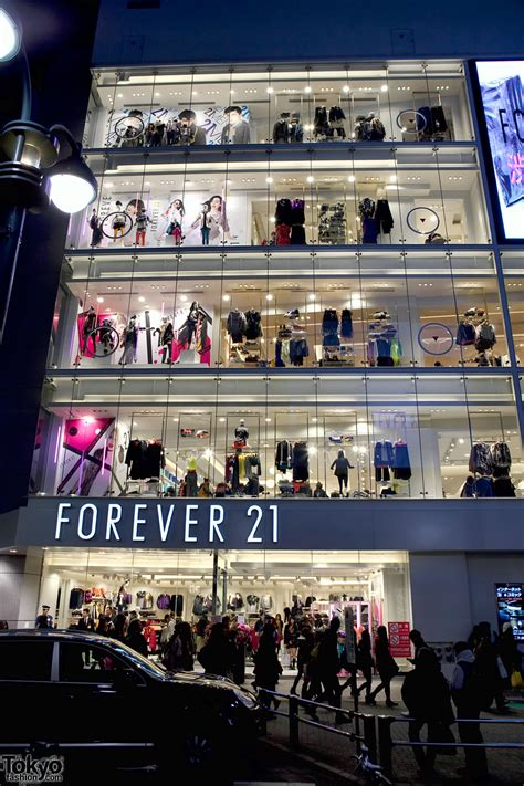 Forever 21s Luxe Big Twelve By Twelve Is Here forever 21 shibuya grand opening