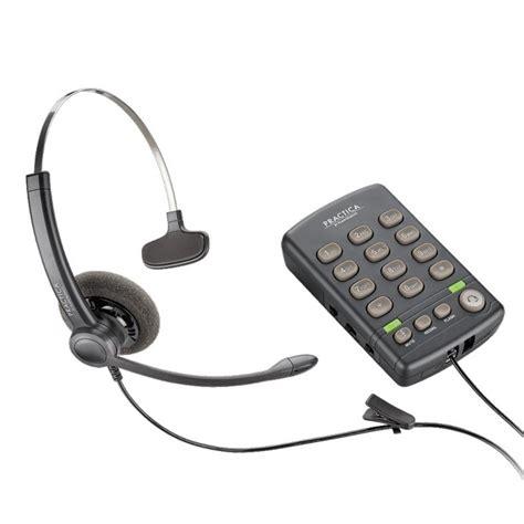 Adaptor Untuk Radio plantronics practica t110 single line corded headset telephone