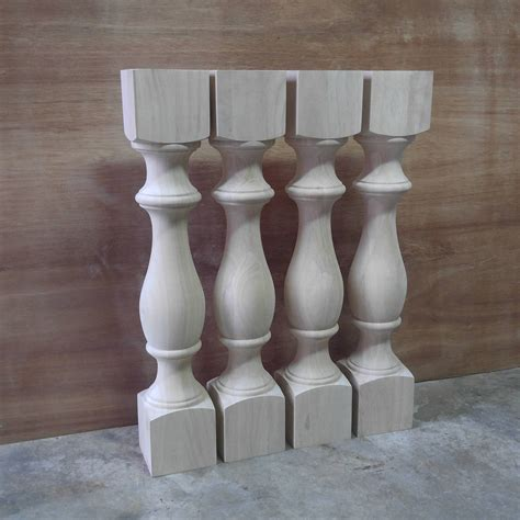 turned table legs unfinished unfinished monastery dining table legs console table legs