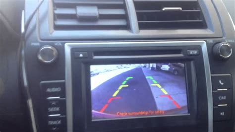 al eds autosound car audio systems including car 2012 toyota camry backup camera installed to factory