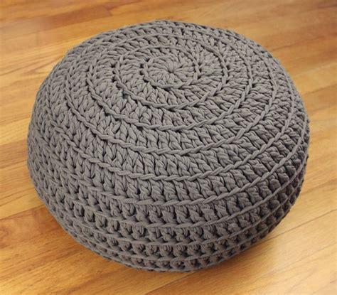 crochet ottoman pattern free 1000 ideas about crochet floor cushion on pinterest