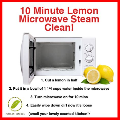 How To Clean Microwave Interior by Clean Your Microwave Naturally